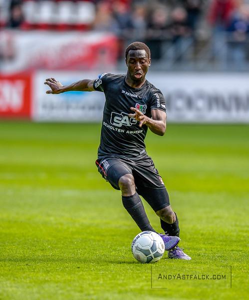 10-04-2016: Voetbal: FC Utrecht v NEC: Utrecht  Janio Bikel from NEC  Fotograaf Andy Astfalck Eredivisie seizoen 2015/2016 Urecht-NEC