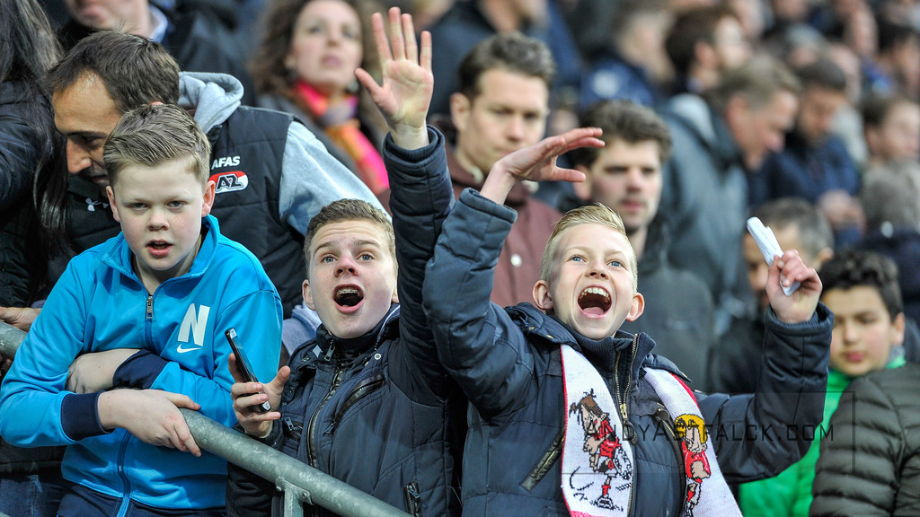 03-04-2016: Voetbal: NEC v Vitesse: Nijmegen    Fotograaf Andy Astfalck  Eredivisie Seizoen 2015-2016 NEC v Vitesse