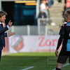 20-04-2016: Voetbal: FC Utrecht v De Graafschap: Utrecht<br /> <br /> Jan Vreman trainer from de Graafschap and Mark Diemers from de Graafschap<br /> <br /> Copyright Orange Pictures / Andy Astfalck<br /> <br /> Eredivisie seizoen 2015/2016 Utrecht - de Graafschap
