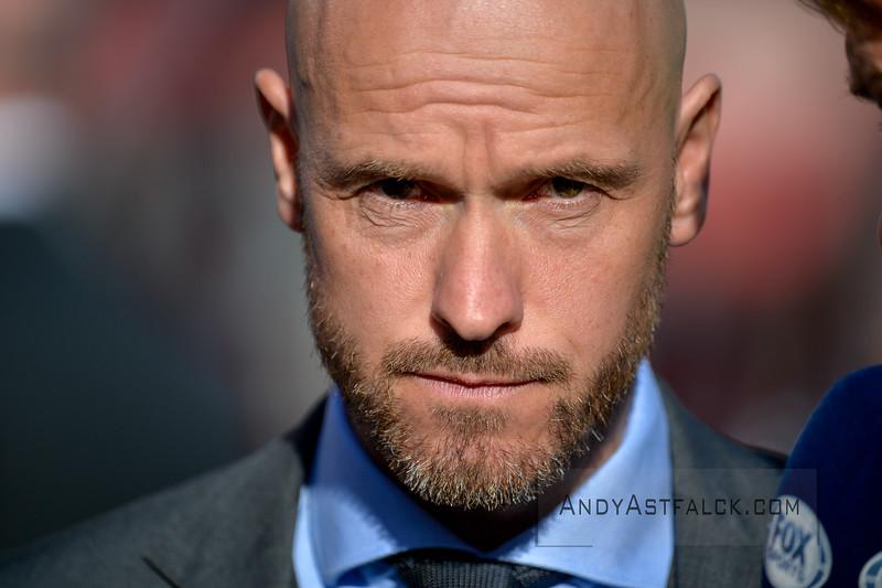 20-04-2016: Voetbal: FC Utrecht v De Graafschap: Utrecht  Erik ten Hag trainer from Utrecht   Copyright Orange Pictures / Andy Astfalck  Eredivisie seizoen 2015/2016 Utrecht - de Graafschap