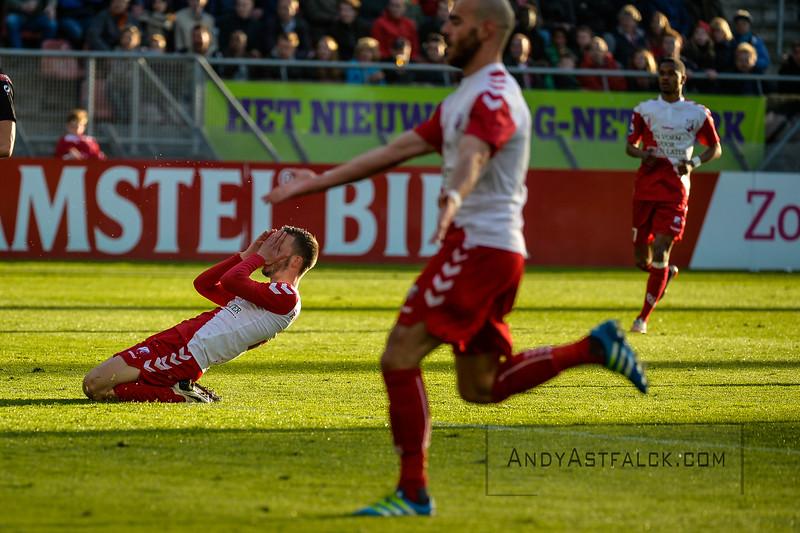 20-04-2016: Voetbal: FC Utrecht v De Graafschap: Utrecht  \u23 and Ruud Boymans from Utrecht  Copyright Orange Pictures / Andy Astfalck  Eredivisie seizoen 2015/2016 Utrecht - de Graafschap