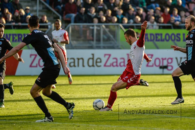 20-04-2016: Voetbal: FC Utrecht v De Graafschap: Utrecht  Bart Ramselaar from Utrecht  Copyright Orange Pictures / Andy Astfalck  Eredivisie seizoen 2015/2016 Utrecht - de Graafschap
