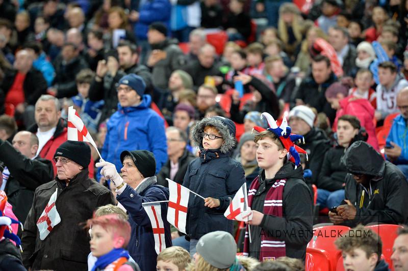 29-03-2016: Voetbal: Engeland v Nederland: Londen English football fans  Fotograaf Andy Astfalck