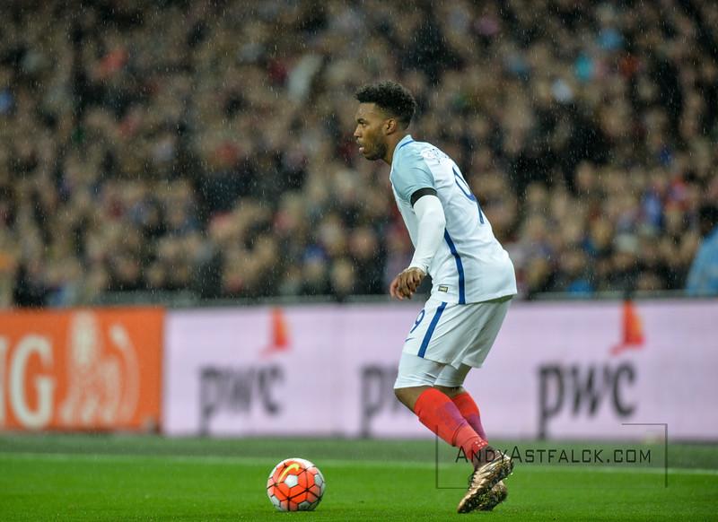29-03-2016: Voetbal: Engeland v Nederland: Londen Daniel Sturridge from England  Fotograaf Andy Astfalck