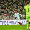 29-03-2016: Voetbal: Engeland v Nederland: Londen<br /> <br /> Daniel Sturbridge from England and Jeroen Zoet of Netherlands<br /> Fotograaf Andy Astfalck