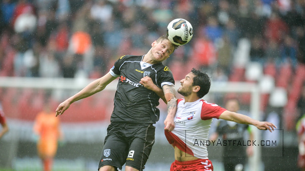 22-05-2016: Voetbal: FC Utrecht v Heracles Almelo: Utrecht  Wout Weghorst from Heracles Almelo   Copyright Orange Pictures / Andy Astfalck  Eredivisie seizoen 2015/2016 Utrecht - Heracles Almelo