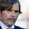 Phillip Cocu coach from PSV during the Dutch Eredivisie Football match between FC Utrecht and PSV Eindhoven at Stadion Galgenwaard in Utrecht on August 6, 2016.