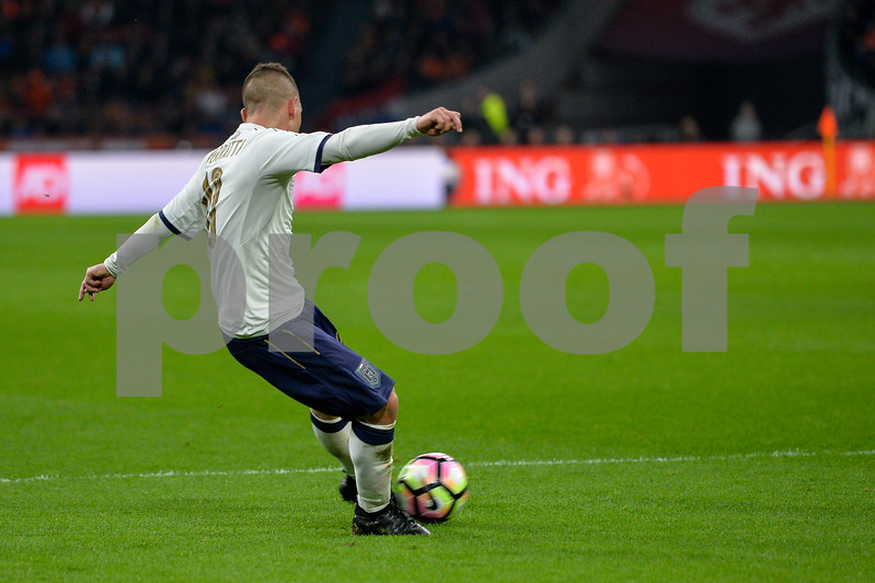 Netherlands  v Italy - International Friendly<br /> During the friendly match between Netherlands and Italy on March 28, 2017 at the Amsterdam Arena in Amsterdam, Netherlands.