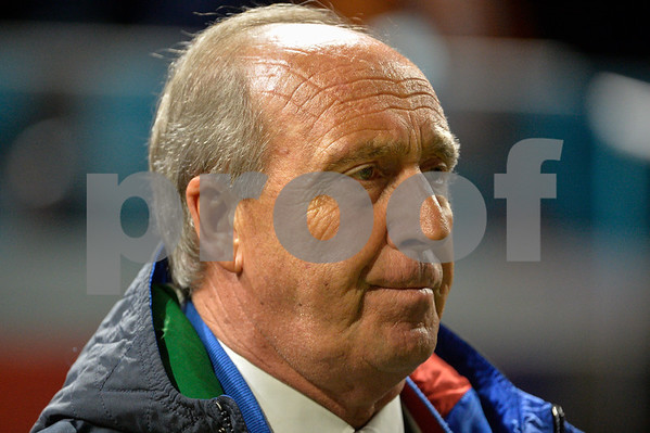Netherlands  v Italy - International Friendly Gian Piero Ventura coach of Italy during the friendly match between Netherlands and Italy on March 28, 2017 at the Amsterdam ArenA in Amsterdam, Netherlands.