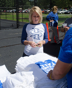 Indiana State defeats Quincy 40-0 in the opening home game of the 2012 football season