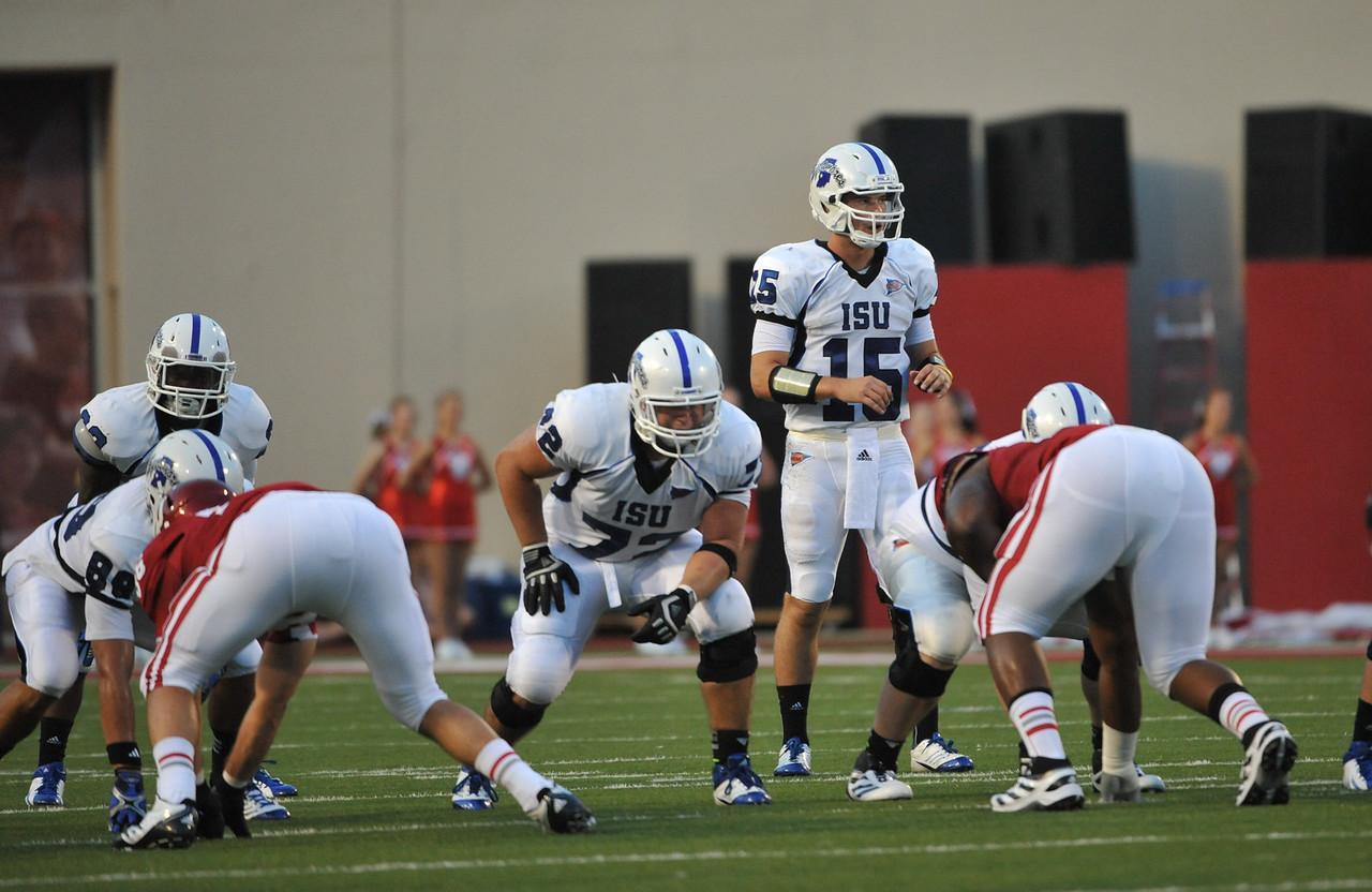 Indiana State University faces IU at memorial stadium in Bloomington to kick off 2012 season