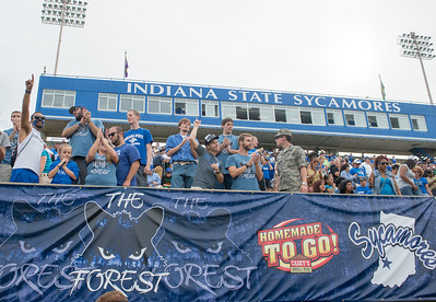 Indiana State defeats Drake 27-10 at Memorial Stadium.