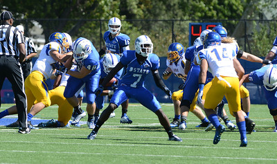 Indiana State falls for South Dakota State in the first conference game of the 2012 season