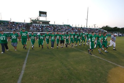 The Seminole Chieftain football team hosted the McLoud Redskins Friday September 14, 2007.
