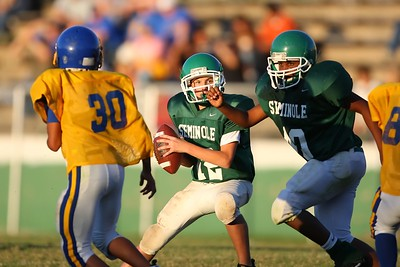 The Seminole Chieftains middle school football team hosted Holdenville Thursday October 11, 2007.