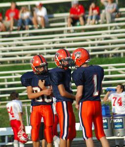 September 22, 2008 Freshman Football Harrison Raiders vs Fishers