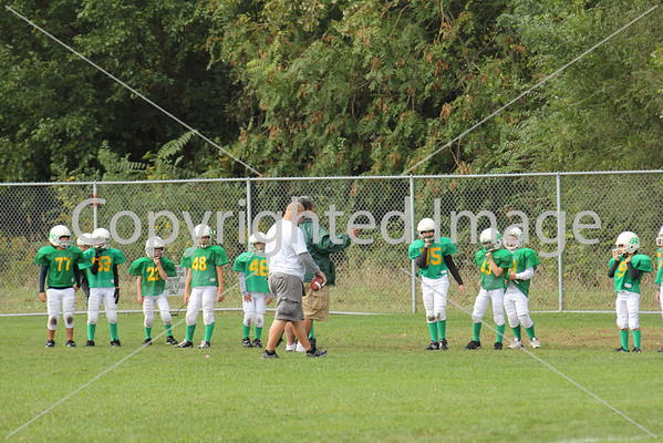 Midget Football Sept. 26, 2010