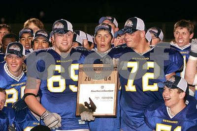 Serrano Vs Palm Springs, CIF SS Div 8 Finals, 12/11/04