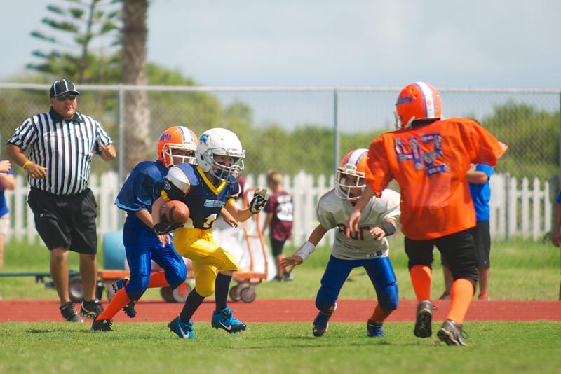 Touchdown run!