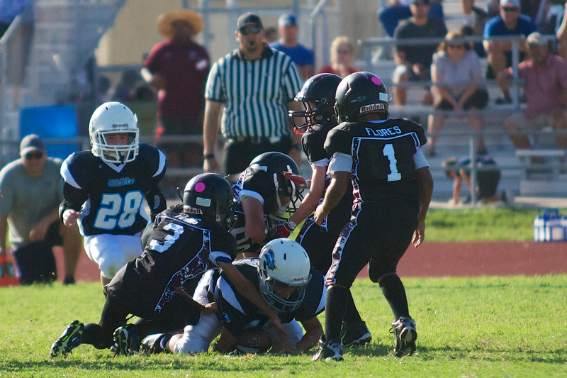 Theo (13) on the fumble recovery!