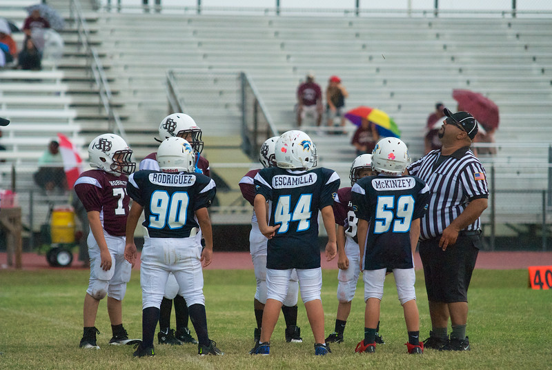 Game 4 (vs. FB) coin toss