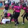 Theo Polakis (#13) on the fumble recovery!