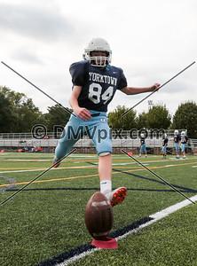 South Lakes @ Yorktown Freshman Football (15 Sep 2016)