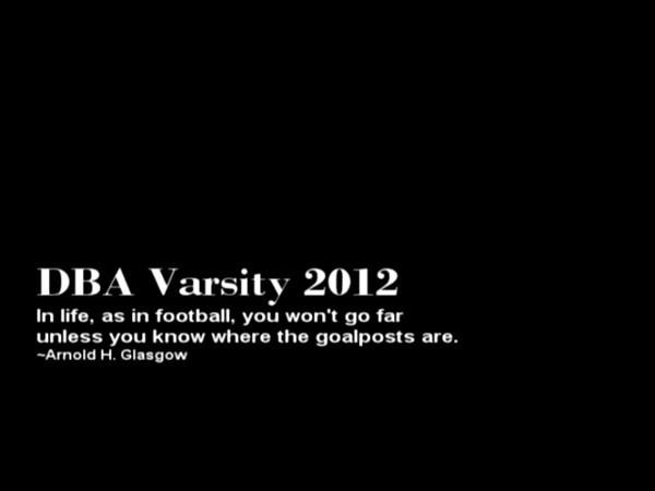 2012 Varsity
