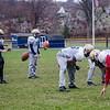 The St. Bernard's football team practices on Thursday afternoon at the Bernardian Bowl. SENTINEL & ENTERPRISE / Ashley Green