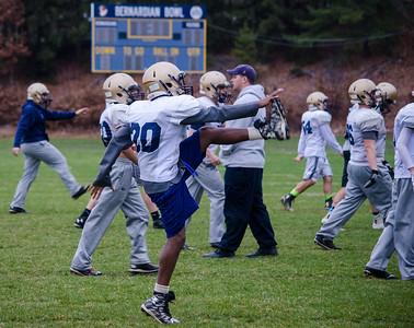 St. B's football practice 11-19-15