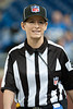 Sep 9, 2012; Detroit, MI, USA; NFL referee Shannon Eastin (27) before the game between the Detroit Lions and the St. Louis Rams at Ford Field. Mandatory Credit: Tim Fuller-US PRESSWIRE