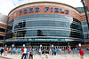 Sep 9, 2012; Detroit, MI, USA; A general view outside of Ford Field before the game between the Detroit Lions and the St. Louis Rams. Mandatory Credit: Tim Fuller-US PRESSWIRE
