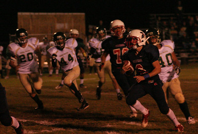 Cody Stiles (6) Rushing Against Sierra Pacific Defense 10-12-12