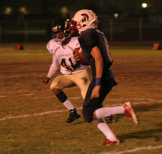 Cody Stiles (6) Rushing Against Sierra Pacific 10-12-12