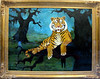 "This original Rodrigue (of Blue Dog fame) was sitting in the window of his French Quarter gallery. A native of Lafayette, Louisiana, Rodrigue painted this picture of Mike the Tiger set in the swamp as a fundraiser for the one of only two live bengal tiger mascots in the country (Memphis is the other). The prints were signed and numbered and and all proceeds went to buying Mike <a href=""http://www.mikethetiger.com/index.php?display=habitat"" target=""_pwws"">his new on-campus habitat.</a>"