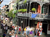 The French Quarter. Gootee's bitchin' balcony on Royal.<br /> Home.