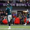 APTOPIX Eagles Patriots Super Bowl Football
