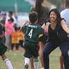 A Mother hugs hier son from Giuseppe FC under7 semi final against Don bosco.<br /> foto: Alex badayos