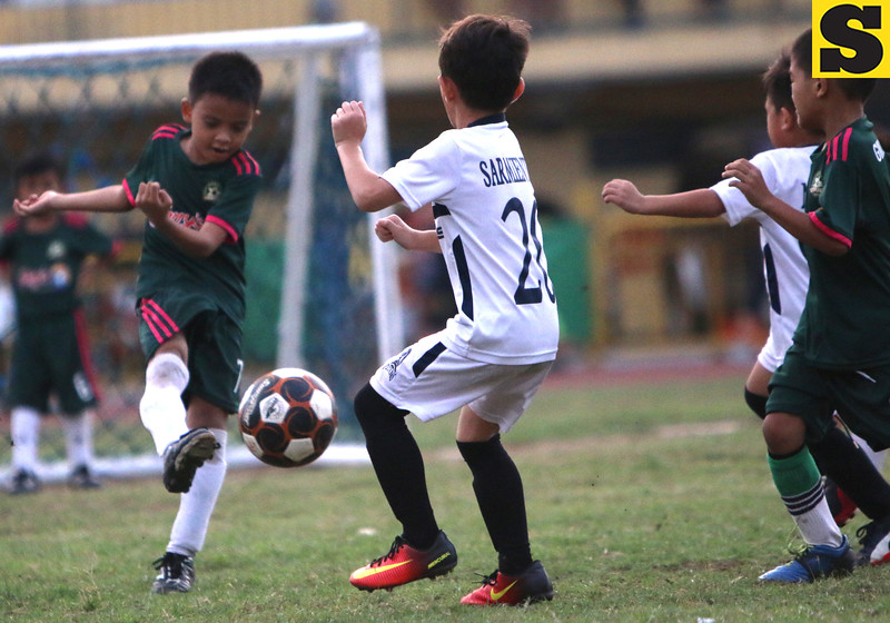 Giuseppe won the 2nd place under 7 after beating the springdale titans<br /> foto: Alex badayos