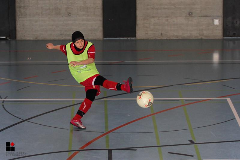 Championnat d'hiver 3ème ligue féminine 2012-2013, Association neuchâteloise de football.  Match FC Couvet - FC Colombier