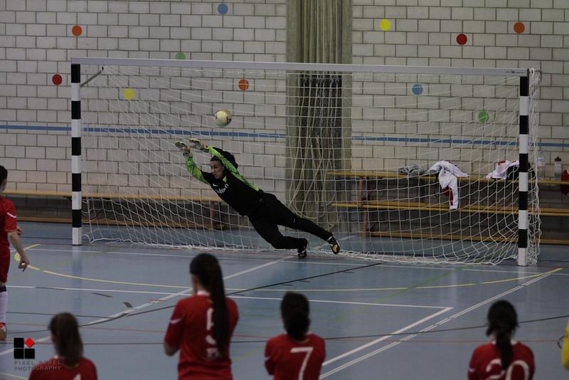 Championnat d'hiver 3ème ligue féminine 2012-2013, Association neuchâteloise de football. 1/4 de finale FC Cortaillod II - FC Colombier