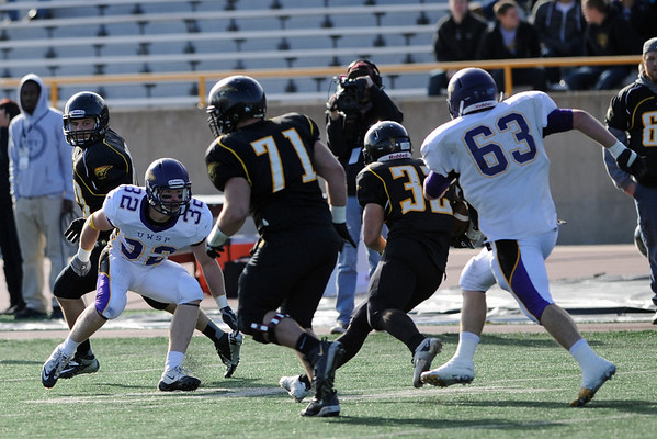 UWSP FB vs UW-Oshkosh 20121103
