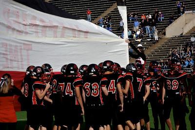 Hamilton Varsity Football vs. Sanford-Fritch, Area Championship, Wichita Falls, Texas.