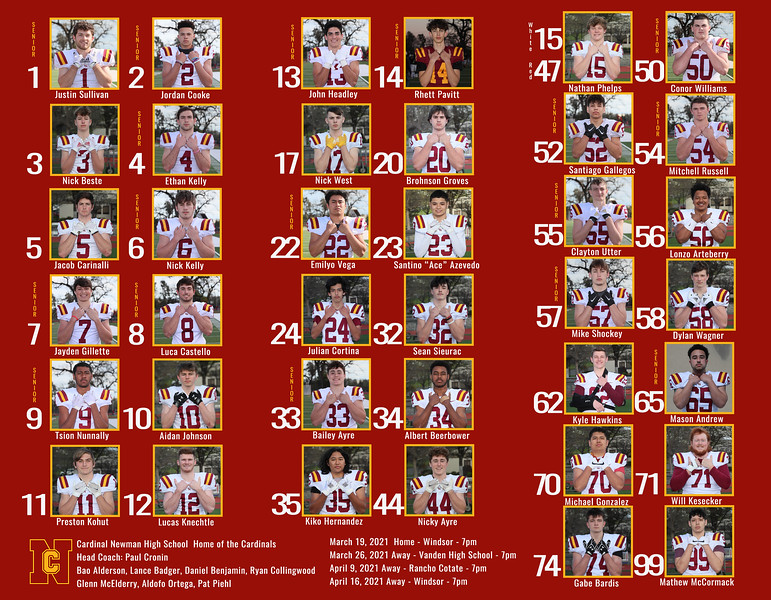 Football 2021 Roster_8 5x11_TriFold_Inside