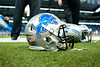 Sep 30, 2012; Detroit, MI, USA; A detailed view of a Detroit Lions helmet before the game against the Minnesota Vikings at Ford Field. Mandatory Credit: Tim Fuller-US PRESSWIRE