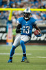 Sep 30, 2012; Detroit, MI, USA; Detroit Lions wide receiver Nate Burleson (13) during the game against the Minnesota Vikings at Ford Field. Mandatory Credit: Tim Fuller-US PRESSWIRE