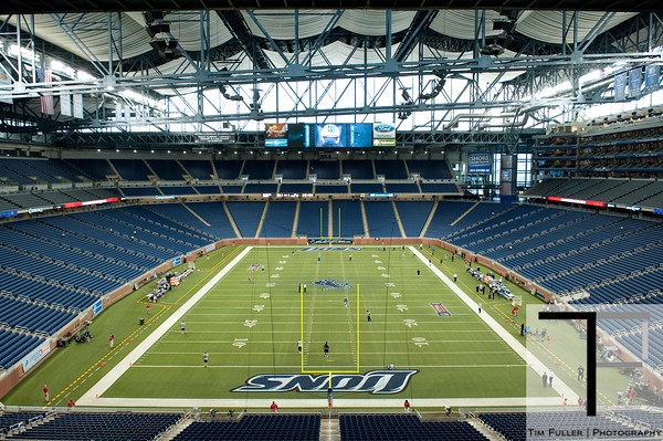 Sep 30, 2012; Detroit, MI, USA; A general view of Ford Field before the game between the Detroit Lions and the Minnesota Vikings. Mandatory Credit: Tim Fuller-US PRESSWIRE