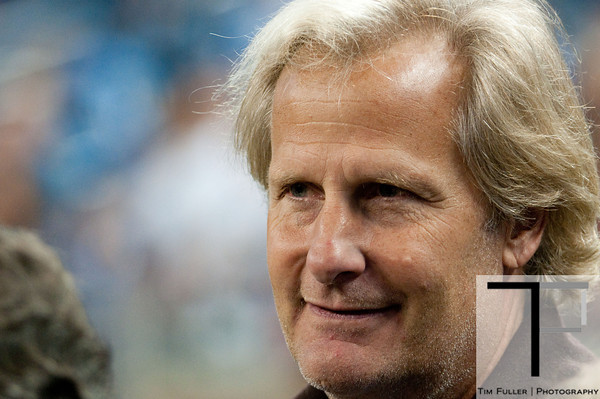 Sep 30, 2012; Detroit, MI, USA; Actor Jeff Daniels before the game between the Detroit Lions and the Minnesota Vikings at Ford Field. Mandatory Credit: Tim Fuller-US PRESSWIRE