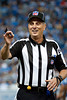 Sep 30, 2012; Detroit, MI, USA; NFl referee Ron Marinucci (107) during the game between the Detroit Lions and the Minnesota Vikings at Ford Field. Mandatory Credit: Tim Fuller-US PRESSWIRE