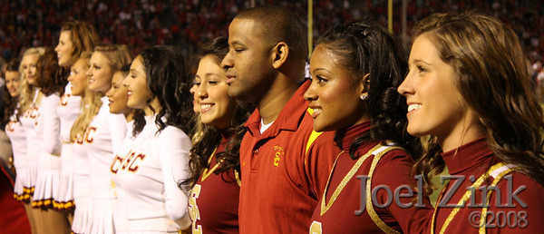 USC Song Girls and Spirit Leaders